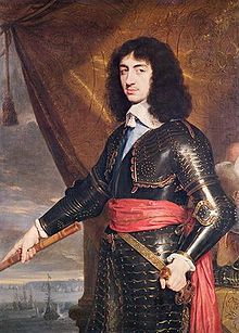 Charles II Stuart King of Great Britain