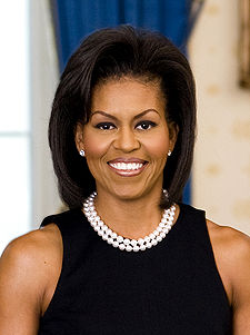 First Lady Michelle Lavaughn Robinson
