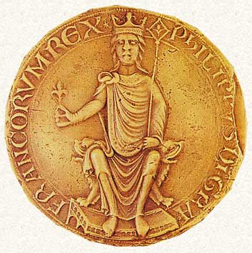 Philip II Augustus King of France