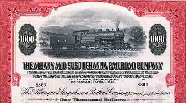 Albany and Susquehanna Railroad