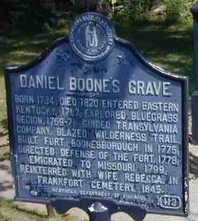 Kentucky Historical Markers