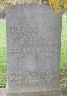 Francis Ryland Boston