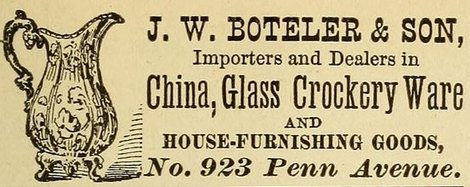 Ad, Washington City Directory 1881