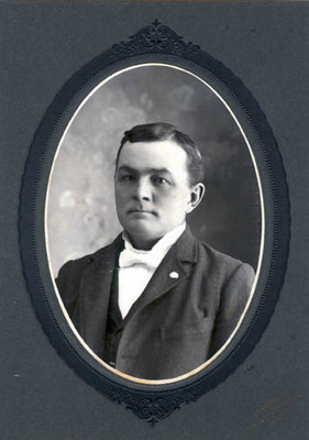 Charles William Small at the time of his wedding,