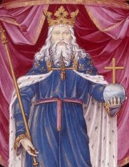 Charlemagne King of Franks