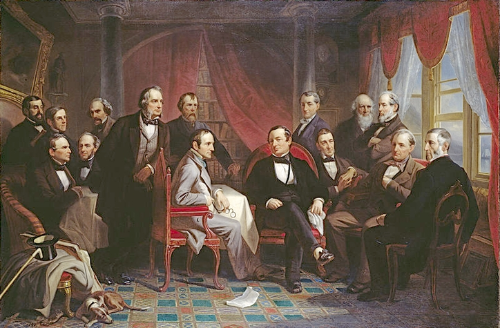 Washington Irving and his Literary Friends