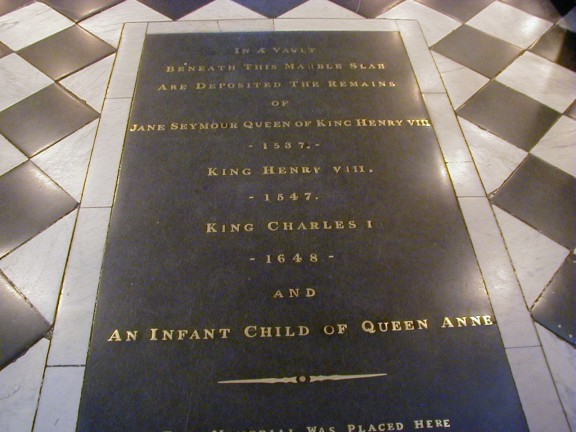 Jane Seymour - Grave, Windsor Castle - Our Family Tree