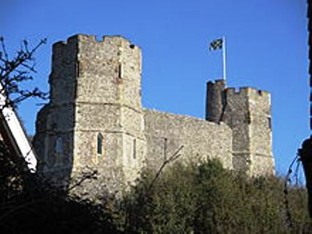 Lewes Castle towers