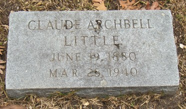 Claudius Archbell Little