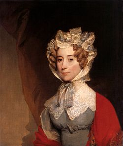 First Lady Louisa Catherine Johnson