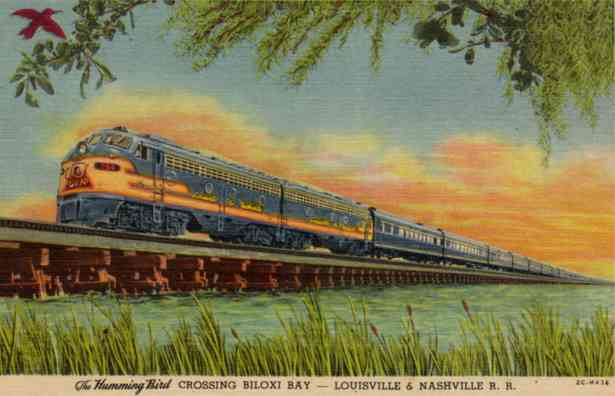 Railroad Postcards