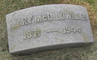 Mary McDowell