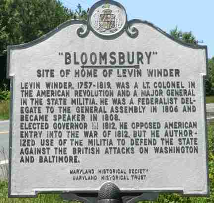 Maryland Historical Markers