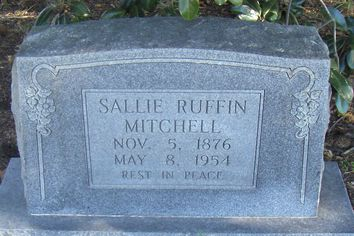 Sallie Ruffin Mitchell