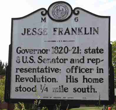 North Carolina Historical Markers