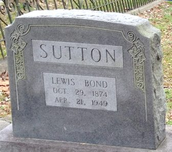 Lewis Bond Sutton