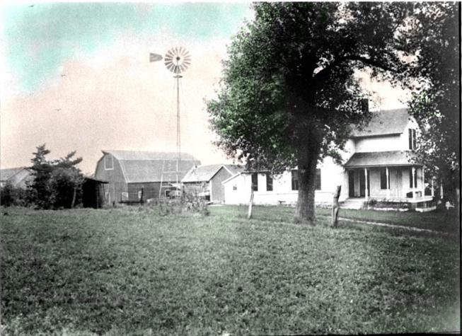 The Charles  Small farm in the 1920