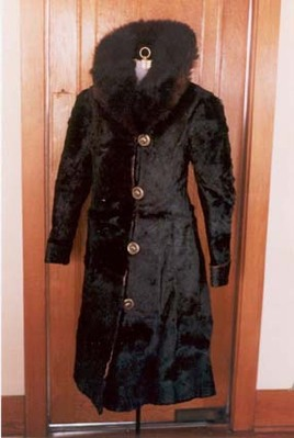 the pony hide coat that Ida (Peterson) Small was w