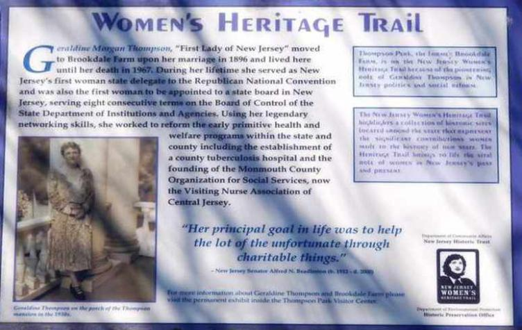 New Jersey Womens Heritage Trail