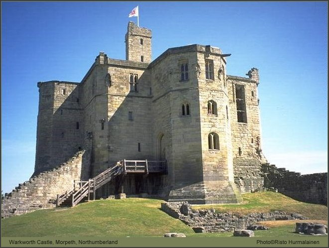 Alnwick, Warkworth Castle