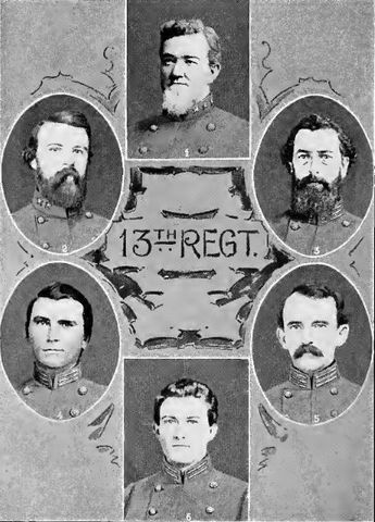 Us Civil War Regiments Companies And Counties Of Origin