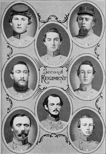the four men of the local regiments of civil war essay In all of the manifestations of purpose associated with raising connecticut's civil war monuments, emphasis was on the sacrifice made by local men while their service in the cause of saving the union was acknowledged, the glory of the deeds of young men of the community was the principal subject extolled.