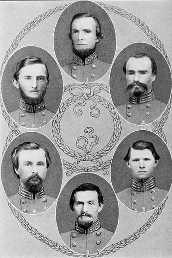 a list of famous people in the civil war The participants in america's early conflicts were just like people today the war of 1812 and the civil war famous for his scathing criticism of the.