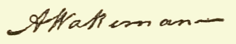 "Signatures of ""Wakeman genealogy, 1630-1899"""