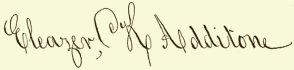 "Signatures of ""History of the Kidder Family"""