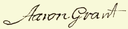 "Signatures of ""Grant Family 1601-1898"""