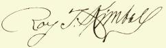 "Signatures of ""Kimball Family in America"""